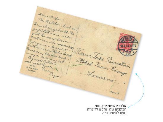 אלברט איינשטיין / מתוך קטלוג המכירות הפומביות של Les Collections ARISTOPHIL