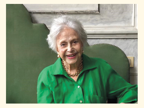 ליידי איבון קוקריין סורסוק בחגיגות יום הולדתה ה־98 במאי השנה / צילום: באדיבות משפחת ליידי איבון סורסוק