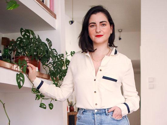 הבלוגרית לובה שרגא / צילום פרטי