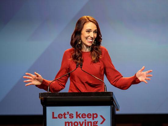 """ראש ממשלת ניו זילנד ג'סינדה ארדרן. """"בין המדינות המעטות שאזרחיהן לא חשים את הבדידות כמצב קיומי"""" / צילום: רויטרס"""