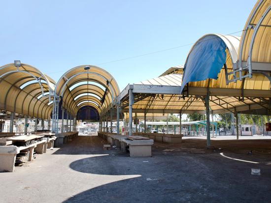 השוק הישן של בית שאן / צילום כדיה לוי