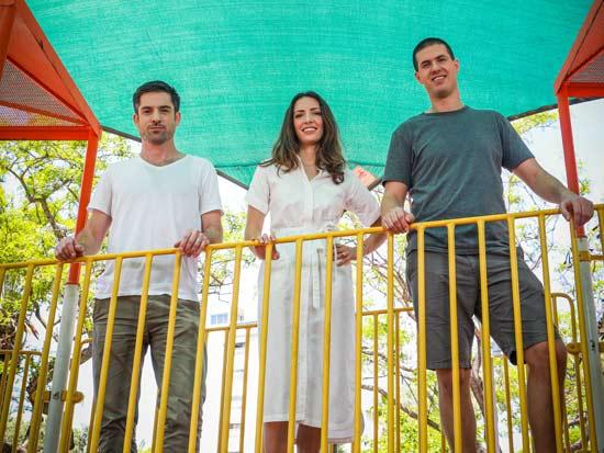 מימין לשמאל: יפתח בר, תמרה הראל כהן, יובל סמט / צילום: שלומי יוסף