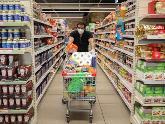 קניות בימי קורונה / צילום: כדיה לוי