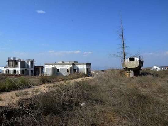 """שעל שבגולן. """"ב־1.3 מיליון שקל אתה קונה פה בית חלומות על דונם, במרכז זה קונה לי בלטה"""" / צילום: איל יצהר"""