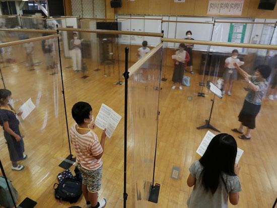 שמירה על ריחוק חברתי  בטייוואן / צילום: רויטרס - Ken Satomi
