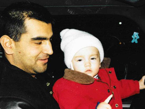 פרנצ'סקה פונטנה ואביה / צילום: פרטי