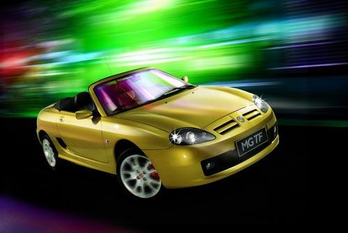 רכבי היצרנית הסינית SAIC, תחת שם המותג MG,