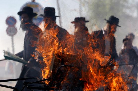 חרדים, הפגנה, דתים, דת, כפייה דתית / צלם רויטרס