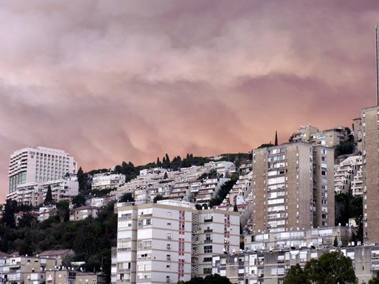שריפה בכרמל חיפה / צלם: יחצ
