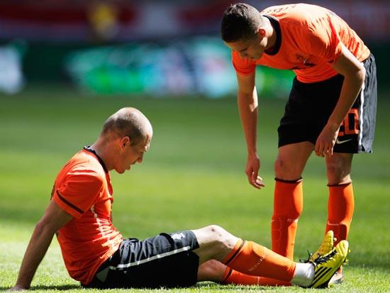 אריאן רובן, נבחרת הולנד / צילום: רויטרס