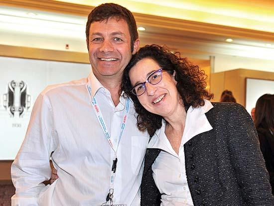 ענת לוין, אריק שטיינברג, ועידת ישראל לעסקים דצמבר 2010