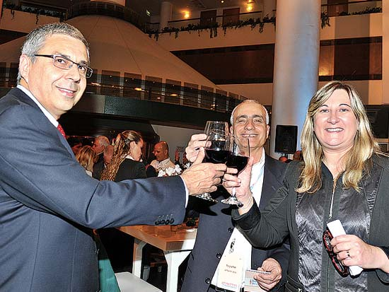 זהבית כהן, שמעון גל, ציון קינן, ועידת ישראל לעסקים דצמבר 2010
