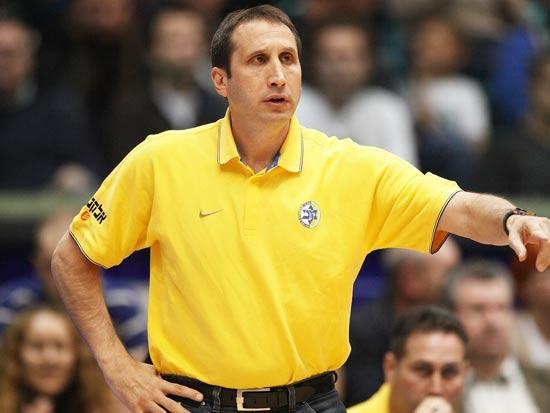דייויד בלאט מאמן מכבי ת