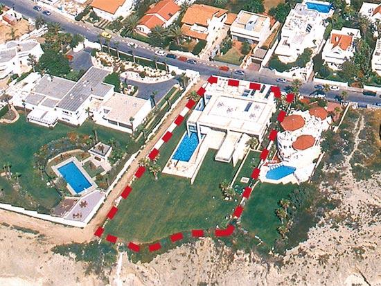 הבית היקר בישראל עובר לידי טדי שגיא / צלם: נשר צילומי אוויר
