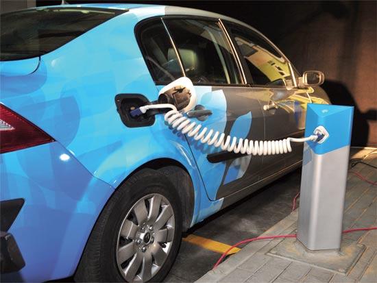רכב חשמלי בטר פלייס / צלם: תמר מצפי