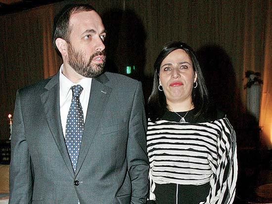 השר אריאל אטיאס ואשתו, באירוע ארבעים שנה למגדל אור / צלם רוני שיצר