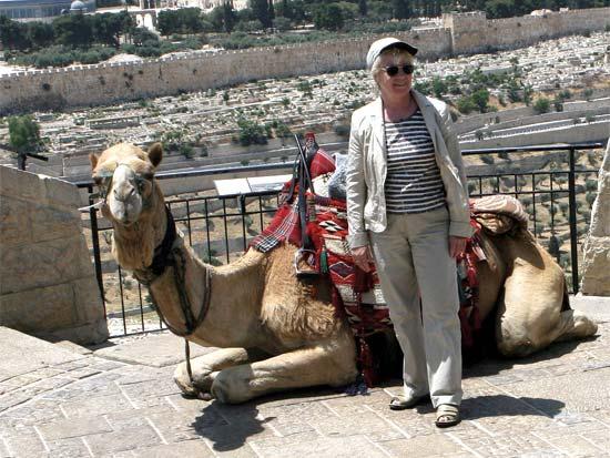 תיירת מצטלמת בישראל, הסברה / צלם רויטרס