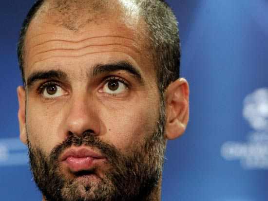 מאמן ברצלונה פפ גווארדיולה / צילום: רויטרס