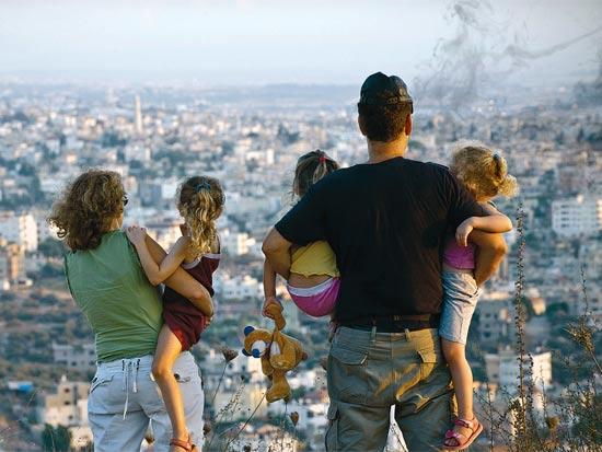 פצצת עשן / צלם: אילן ויונתן קירשנבאום