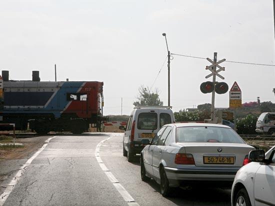 מפגש מסילה בכיש רכבת 11 קטלני עתלית / צלם:עינת לברון