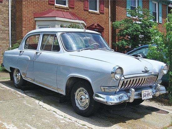 גאז Volga 1962