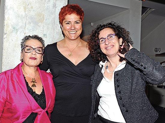 ענת לוין, לינדה בן שושן, חנה פרי-זן, ועידת תל-אביב להשקעה / צילום: תמר מצפי