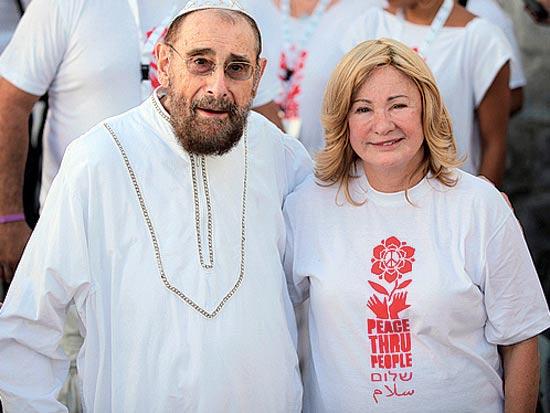 קרן ושרגא ברג, בר מצווה לנכד דיוויד / צילום: שחר פרידמן ושולמית הרשלר