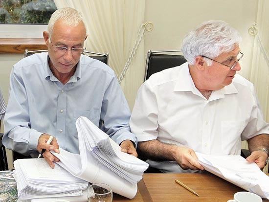 רמי נוסבאום, סלומון בטיטו, טקס חתימת ההסכם סין מליסרון ו-KIKA / צילום: מישל דוט קום
