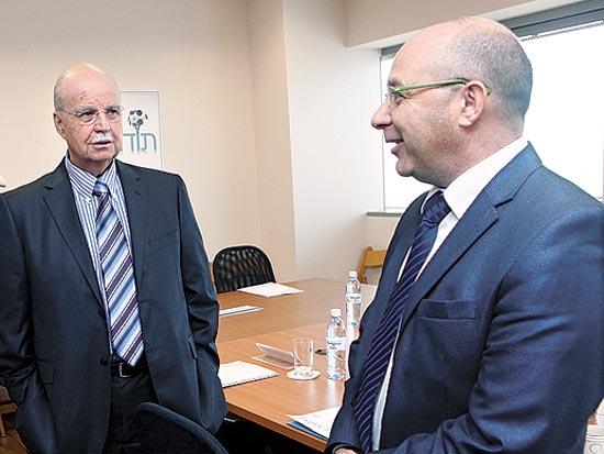 ארז בנוביץ, שלמה זיו, סיור הנשיא בעיר אלעד / צלם יחצ