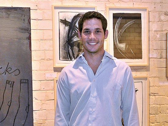 רון פדרמן, מכירה שנתית של אמנות ישראלית בגלריית קונטמפוררי / צילום: דפנה כהן