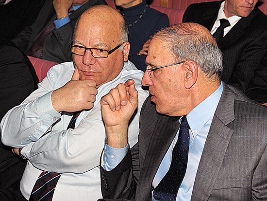 משה לדור, משה גל, יובל להקמת לשכת עורכי הדין / צלם איל יצהר