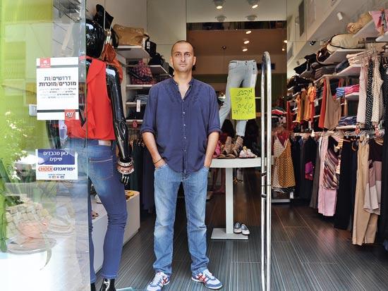 עופר כהן, גריפ, חנויות נסגרות ברחוב שנקין / צילום: תמר מצפי