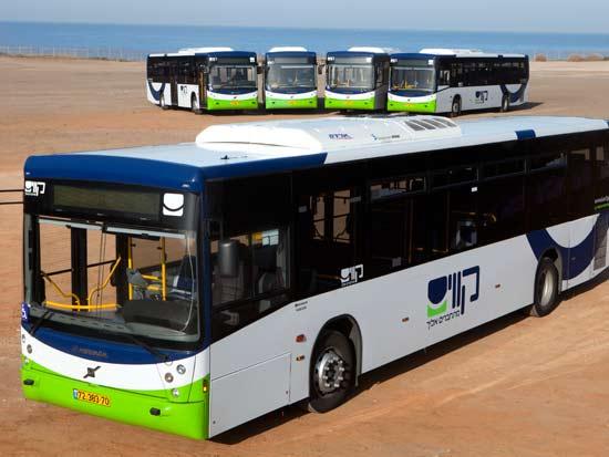 אוטובוס של חברת קווים/ צלם: יחצ