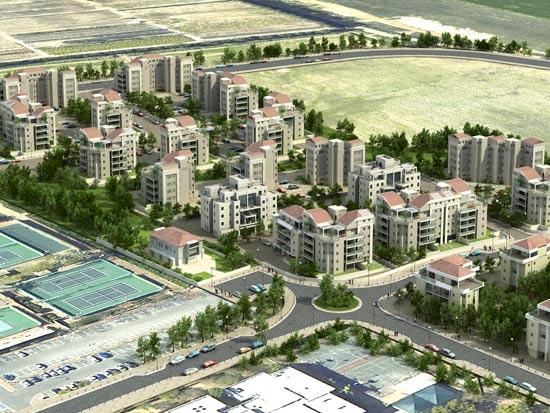 שכונת נאות עוזי ברעננה, / צלם: מחלקת התכנון באדף ההנדסה של עיריית רעננה