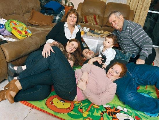 משפחת בלו / צלם: תמר מצפי