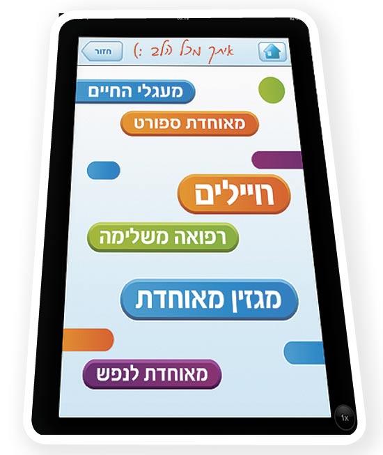 אפליקציית הסלולר של מאוחדת / צילום מסך