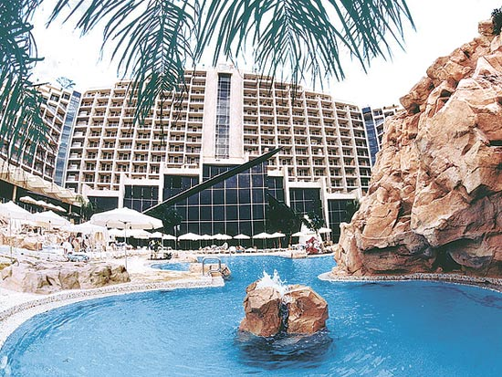 מלון דן אילת / צילום: סיוון פרג'