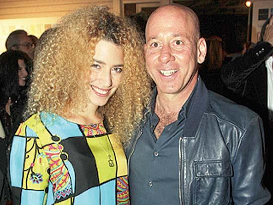 ג'ורג'י אקירוב וידידה, שבוע האופנה הרשמי של ישראל / צילום: יוסי כהן