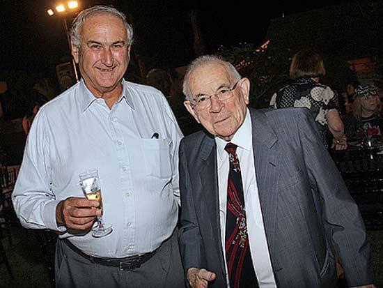 אליהו וינוגרד, דן פרופר, אירוע ההתרמה השנתי של ויצו / צילום: יוסי כהן