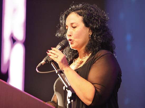 דפנה הררי, אירוע ההתרמה של עמותת אתגרים / צילום: רוני שיצר
