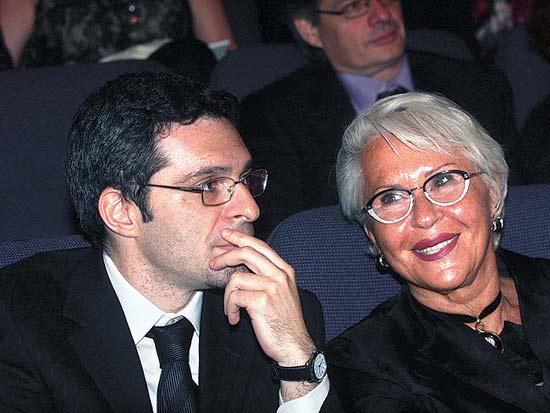 גבריאלה ואריאל דוד, פרס דן דוד הבינלאומי 2012 / צילום: רוני שיצר
