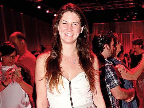 דורין אריסון, תערוכת אופנה קסטרו סתיו חורף 2012-2013 / צילום: סיון פרג'