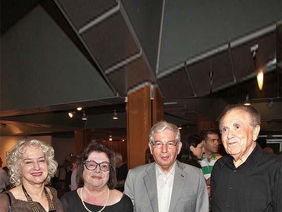 דב תדמור, דוד ליבאי, ג'ני ברנדס, עדה ליבאי, חוג ידידי בית לסין / צילום: יוסי כהן