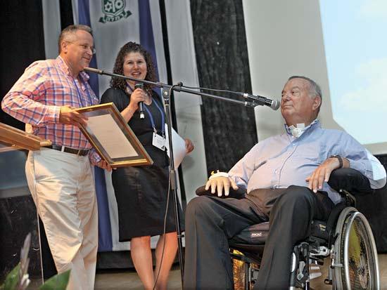דב לאוטמן, גלית טולדנו האריס, אמנון שורק, עמותת YRF / צילום: דליה עבדה