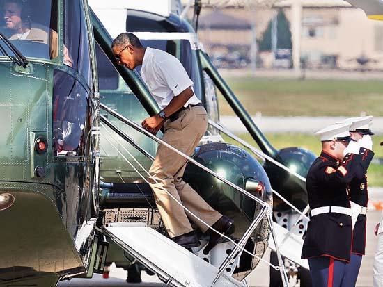ברק אובמה, יום הולדת 51 / צילום: רויטרס