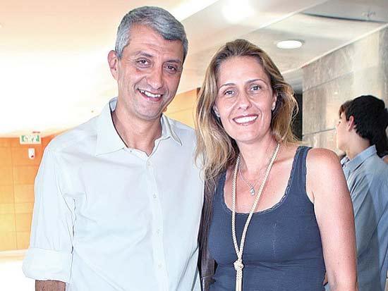 אודליה אורבך, אסף בן דב, חנוכת רשת הסופרמקטים של רמי שביט / צילום: שוקה כהן
