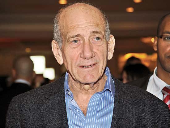 אהוד אולמרט, ועידת ישראל לעסקים 2012 / צילום: איל יצהר