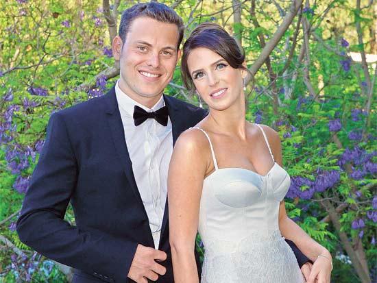 חתונת הדר ומנחם גינדי / צילום: קמליה