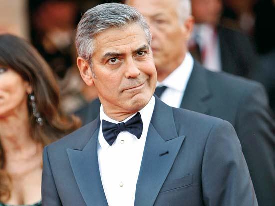 ג'ורג' קלוני, הזמנה לבית הלבן / צילום: רויטרס