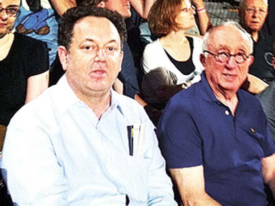 חנינא וגיל ברנדס, בהופעה של מדונה מאי 2012 / צילום: יוסי כהן